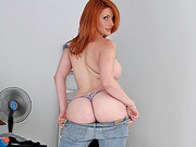 Ass to die for babe Lilith Lust fucked while booty bounces
