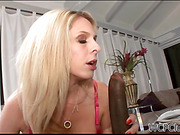 Hot bodied gilf gets a taste for black cock
