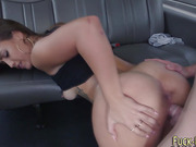 Face jizzed amateur ride