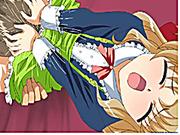 Hentai maid gets sucking her wetpussy