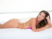 Babe Eva Lovia fucks dick and takes big load of cum