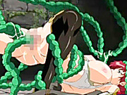 Bigboobs hentai gets tentacle worms hard drill all hole