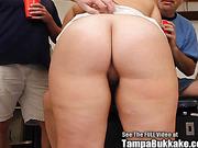Big Tit Blonde Nymph Gang Bang Swallower!