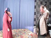 Naughty Granny Horny Gets A Happy Pounding