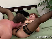 This MILF knows how to suck cock