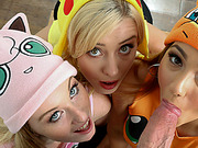 Catching The Naughty Pokemons And Having Sexy Fun With Them