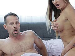 Her Mums Wild Sex Romp Causes A Threeway