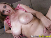 Knockers babe cunt rammed