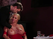 Milfs huge jugs spunked