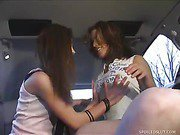 fresh Hotties Blow Guy In Back Of Limo