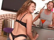 Whale Tail Whore Carmen Begs For Dick