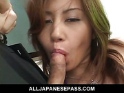 Schools out for hot teacher Nana Nanami and her students as they strip and fuck