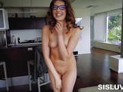 Sexy Elena Koshka Sucks and Boned by Large Pole