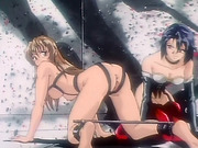 Hentai girl gets enema and ass fucked
