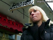 Pretty Eurobabe Laura banged for money