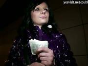 Cute Czech girl Maja banged for money