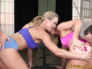 Cockhungry cfnm milfs fucked by young studs