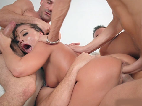 Double anal wife