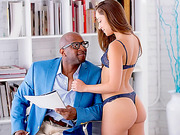 Gorgeous Remy LaCroix gets anal banged