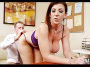 Fucking My Big Booty Boss In The Office Sara Jay