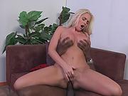 Alena`s Croft pussy got destroyed by big black cock