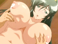 Melon juggs hentai wetpussy fucking and creampie