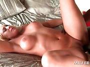 Big ass slutty mom gets hardcore on black dick