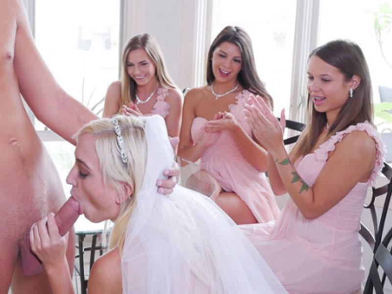 Будущая Невеста Сосет Хуй На Дивишнике