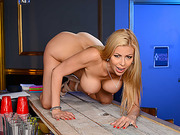 Hot Alexis Fawx is thirsty for some fresh big stiff cock