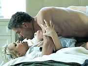 Sexy maid Mia Malkova gets nailed on the bed by Mick Blue