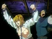 Hentai blondie in chains