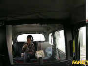 Slutty teen sucks the taxi drivers cock