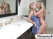 Teen likes older women and gets with the stepmom of her boyfriend