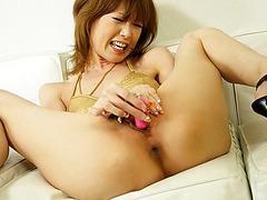 Sloppy blowjob leads Rika Sakurai to swallowing hard