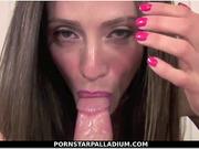 Ariella Ferrera Sloppy Blowjob