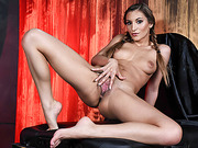 Teen babe Moka gets her wet pussy banged hard