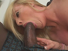 Busty Blonde Mom Wanted This Big Black Cock Badly