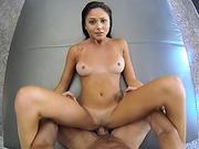 Gorgeous Arianna Marie gets fucked POV