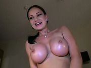 Beauty Abbie gains cash and gets fucked
