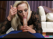 dick Crazed Blonde milf