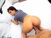 Step bro doggystyle fuck Gina Valentinas pussy