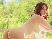 Very hot lesbian babes Serena Blair and Bree Daniels in fabulous lesbian anal adventure