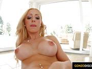 Melanie Gold pornstar - watch her masturbating closely