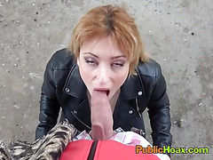 Slut Lucia Fernandez Loves Playing With Strangers Big Cock
