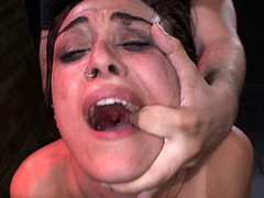 Ava Kelly begs for disgrace by big cock