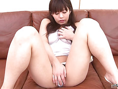 This horny Asian hottie is 18 years old and shes ready to get