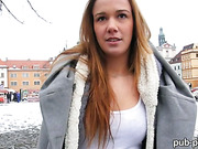 Dominika screwed up with perv stranger