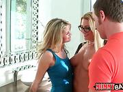 Jennifer Best and Jessa Rhodes threeway