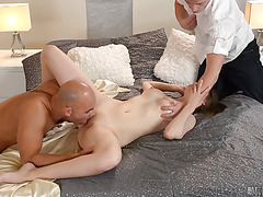 Alysa Gap gets fucked by multiple dudes all the time, so she was