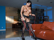 Big tits Romi Rain gets pussy licked by a horny dude Xander Corvus